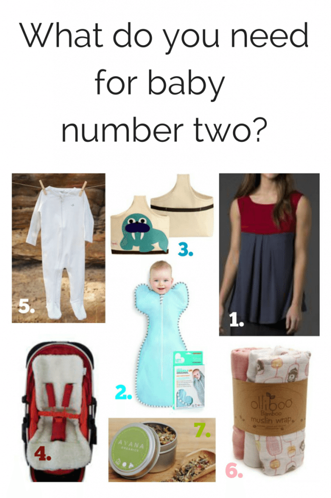 What do you need for baby number two