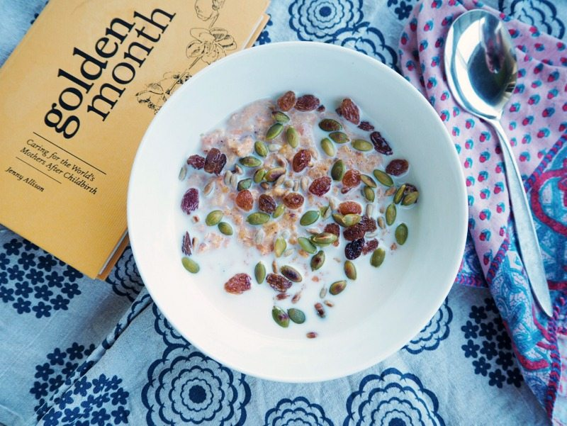 Thermomix Postpartum Porridge